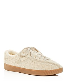 Tretorn - Women's Nylite Plus Faux Shearling Lace Up Sneakers