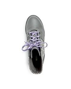 Sorel - Girls' Lexie Waterproof Leather Hidden Wedge Booties - Little Kid, Big Kid