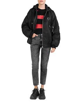 The Kooples - Hooded Zip Jacket