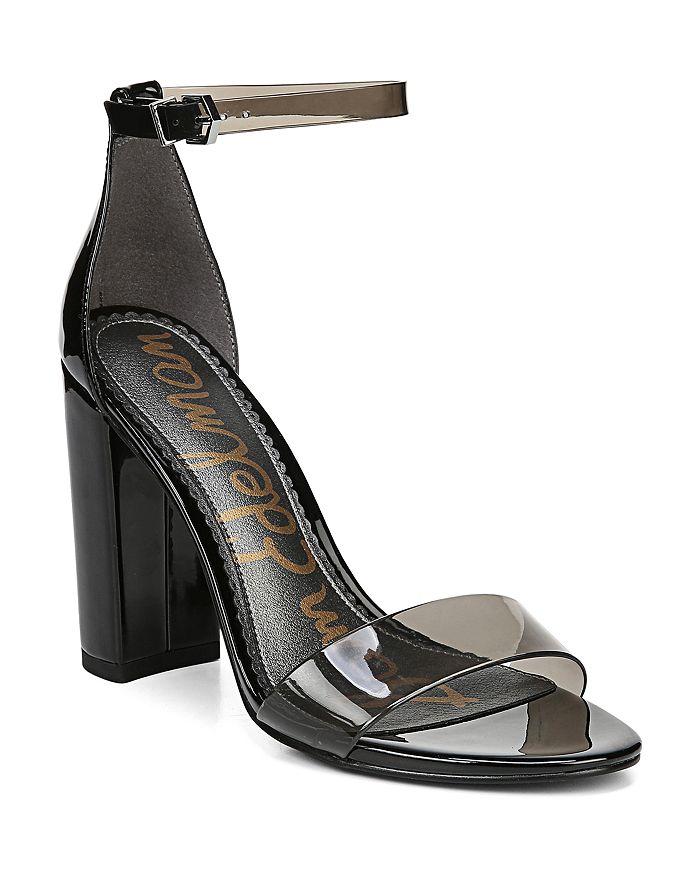 ea8a44075404 Sam Edelman - Women s Yaro Ankle Strap Block Heel Sandals