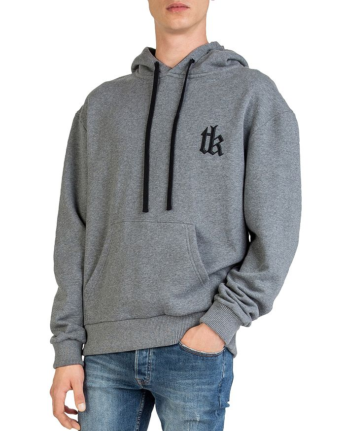 The Kooples - Embroidered Fleece Hoodie