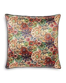 "Robert Graham - Mandala Decorative Pillow, 22"" x 22"""