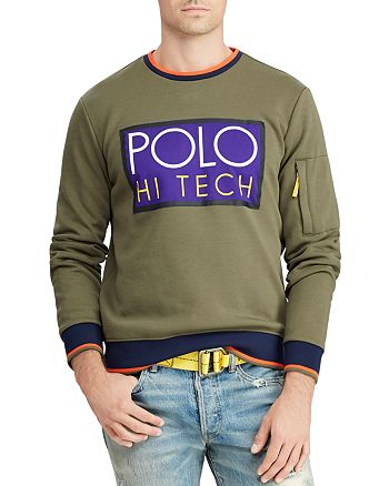 Sweatshirt Lauren Tech Double Polo Knit Hi 100 Ralph 8Pw0knO