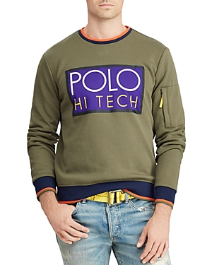 Polo Ralph Lauren Polo Hi Tech Double-Knit Sweatshirt