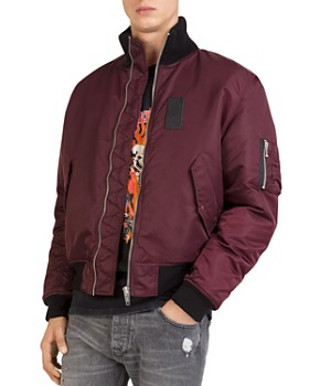 The Kooples - Nylon Flight Jacket
