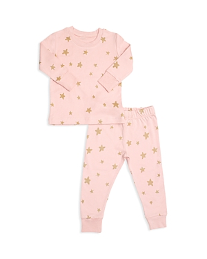 Tun Tun Girls Shimmer StarPrint Pajama Shirt  Pants Set  Baby