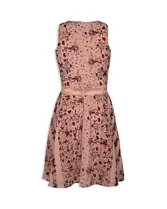 BCBGirls - Girls' Georgette Floral Chiffon Dress - Little Kid