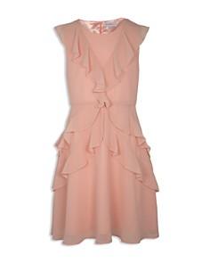 BCBGirls - Girls' Ruffled Chiffon Dress - Big Kid