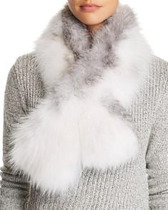 Maximilian Furs - Fox Fur Pull-Through Scarf - 100% Exclusive