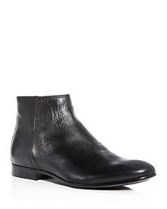 Kenneth Cole - Men's Mix Leather Zip Boots