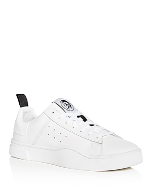 Diesel Men's Clever Leather Lace Up Sneakers