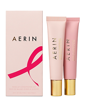 Aerin Breast Cancer Research Foundation Rose Lip Conditioner Gift Set