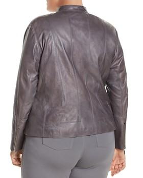Lafayette 148 New York Plus - Sadie Lambskin Jacket
