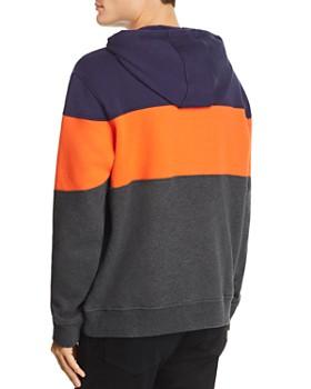 FILA - Flamino Color-Block Logo Hooded Sweatshirt