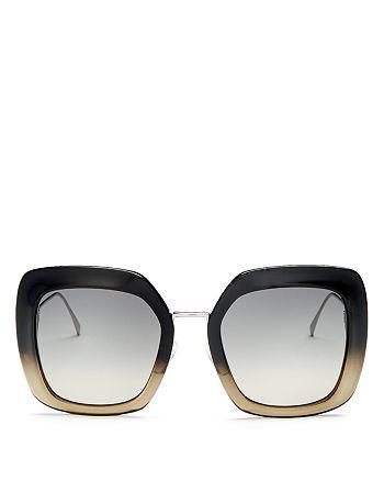 Fendi - Women's Oversized Square Sunglasses, 53mm