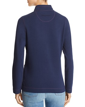 Tommy Bahama - Embroidered Half-Zip Sweater