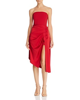 Ramy Brook - Carmen Asymmetric Strapless Dress