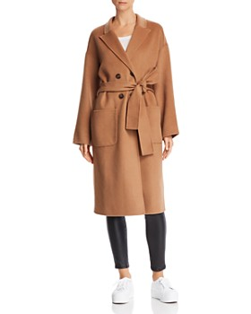 Anine Bing - Dylan Wool & Cashmere Trench Coat