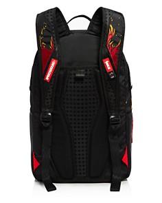 Sprayground - Boys' Miami Heat Flames & Shark Backpack