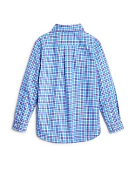 Vineyard Vines - Boys' Flannel Whale Shirt - Little Kid, Big Kid