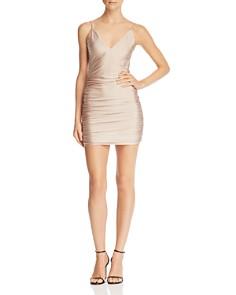 Tiger Mist - Ally Ruched Mini Dress
