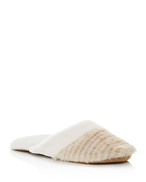Natori Faux Fur Slippers - 100% Exclusive