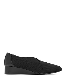 Taryn Rose - Women's Celeste Stretch Knit Demi Wedge Pumps