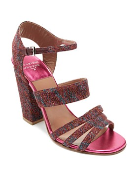 Laurence Dacade - Women's Ninon Multicolor Metallic Ankle Strap Sandals