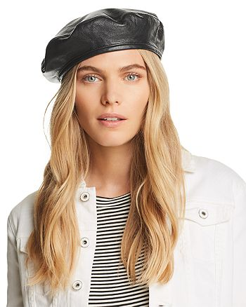 f99a7176b934f Eugenia Kim - Cher Leather Beret