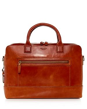 Shinola Bedrock Leather Briefcase-Men