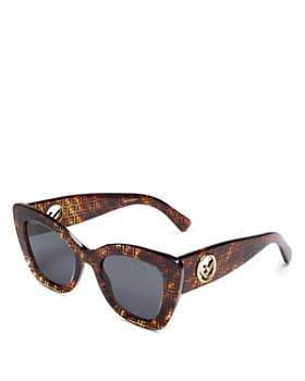 ce64baa43 Fendi - Women's Cat Eye Sunglasses, ...