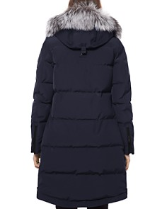 Moose Knuckles - Salmon River Fox Fur Trim Down Parka