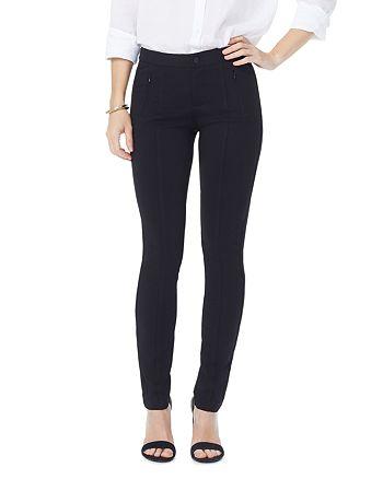 NYDJ - Zip-Pocket Skinny Pants - 100% Exclusive