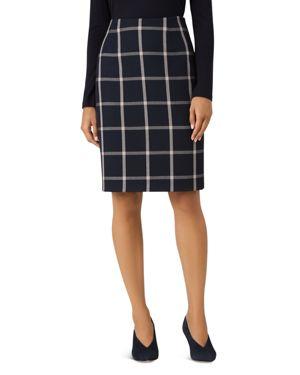 Hobbs London Nora Striped Pencil Skirt