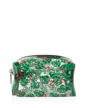 Skinnydip Snake & Palm Print Cosmetic Bag 3110761
