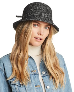 August Hat Company Bow Detail Cloche - Bloomingdale's_0