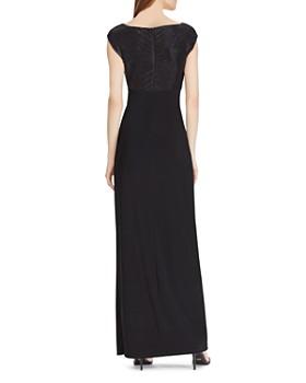 Ralph Lauren - Beaded Cowl-Neck Gown