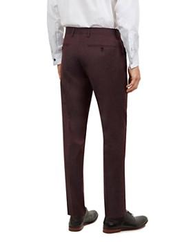 Ted Baker - Kubratt Debonair Semi-Plain Slim Fit Wool Trousers