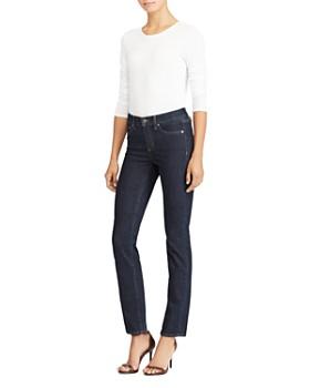5e5e66a65638b ... Ralph Lauren - Premier Straight-Leg Jeans in Rinse Wash
