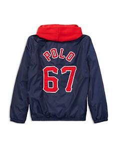 Ralph Lauren - Boys' Polo Bear Baseball Coach Jacket - Big Kid