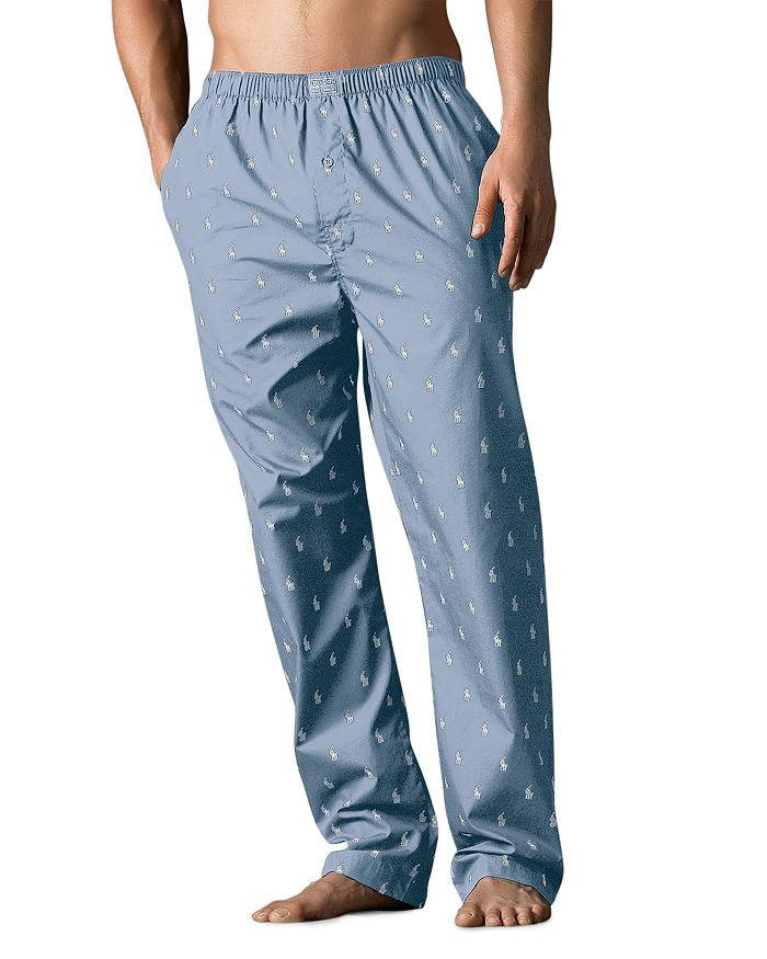 4ef5bb377 Polo Ralph Lauren - Logo-Print Pajama Pants