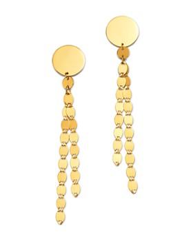 Moon & Meadow - 14K Yellow Gold Tassel Drop Earrings - 100% Exclusive