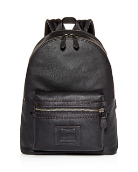 COACH - Academy Leather Backpack