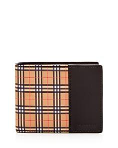 Burberry - Mini Vintage Check Bi-Fold Wallet