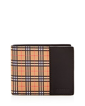 Burberry - Mini Vintage Check Bi-Fold Wallet