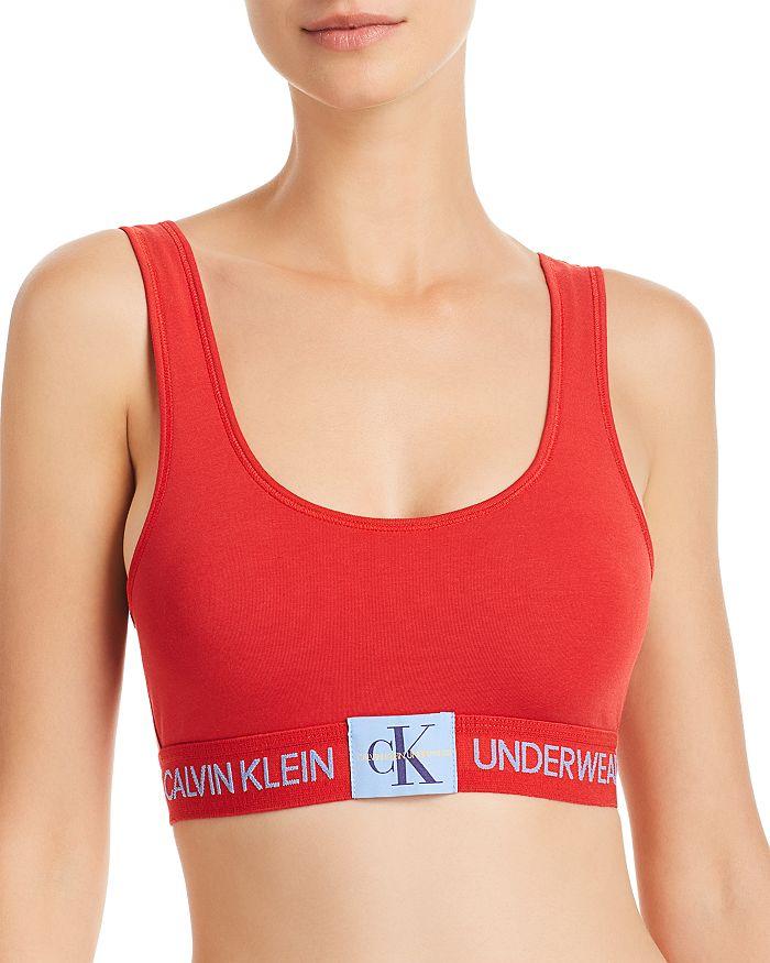 4df7d77296 Calvin Klein - Monogram Unlined Bralette