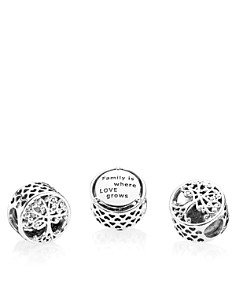 PANDORA Family Roots Sterling Silver Charm - Bloomingdale's_0