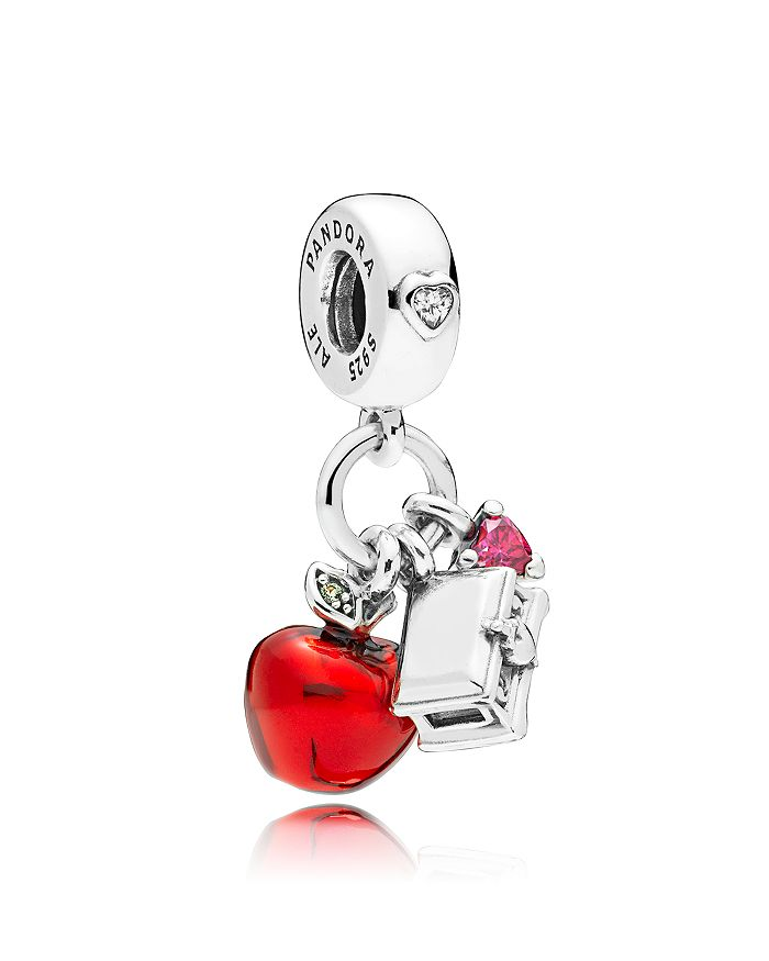 553b6c93c Pandora Disney Snow White Apple & Heart Cluster Drop Charm ...