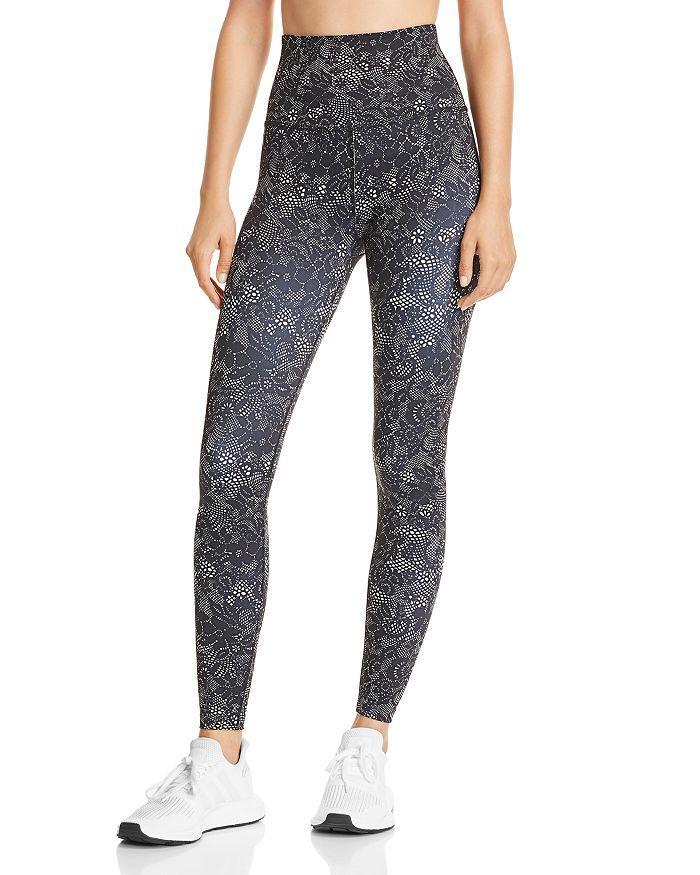 Beyond Yoga - Olympus High-Waist Lace Print Leggings