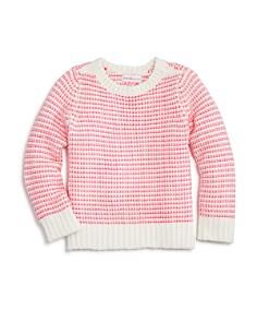 Design History - Girls' Striped Chenile Sweater - Little Kid